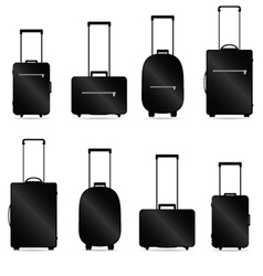 Traveling bag vector