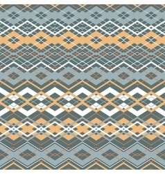 Cross zigzag seamless pattern vector
