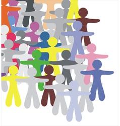 Human group vector