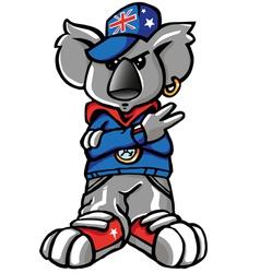 Koala rap vector