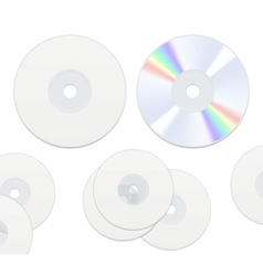 Dvd or cd disc vector