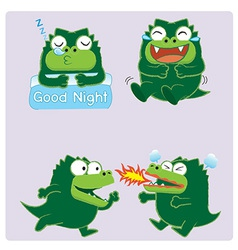 Crocodileacting02 vector