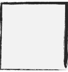 Simple grunge border vector