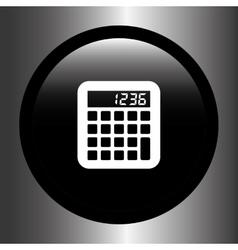Calculator icon design vector