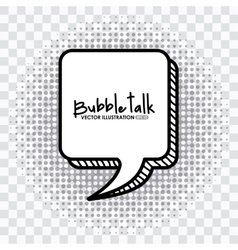 Bubble talk vector
