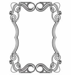 Pattern for design frame vector