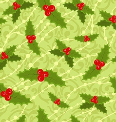 Cute seamless christmas pattern vector