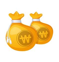Icon money pocket vector
