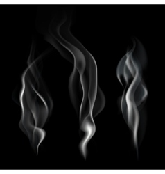 Realistic smoke vector