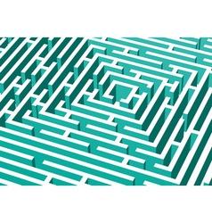 3d labyrinth vector