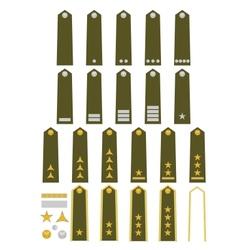 Czech army insignia vector