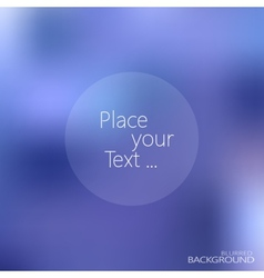 Blurred background with place for your text vector