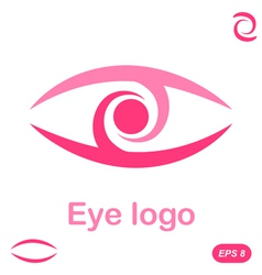 Eye logo conception vector