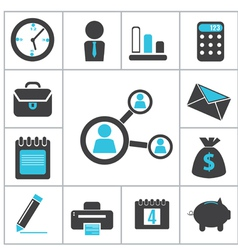 Buisness icons vector