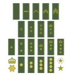 Insignia of the swedish army vector