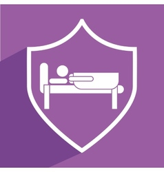 Sleep icon vector