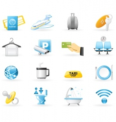 Airport services vector