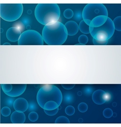 Abstract blue deep - water background vector