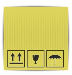 Paper box vector