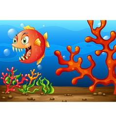 Sea monster vector