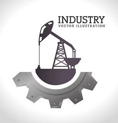 Industry design over white background vector