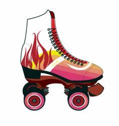 Roller-skate vector
