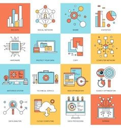Technology concepts vector