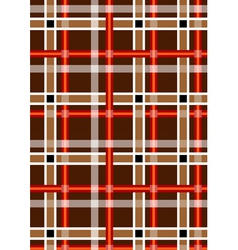 Mottled brown background with red and white stripe vector