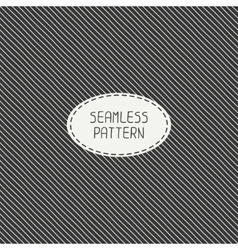 Retro diagonal stripes geometric seamless pattern vector