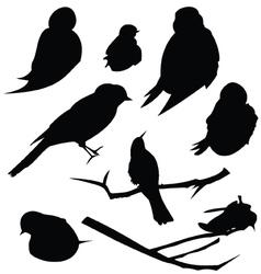 Bird silhouette animal clip art vector