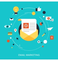 E-mail marketing vector