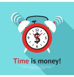 Alarm clock poster vector