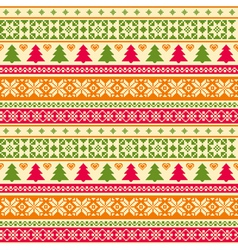 Christmas pattern vector