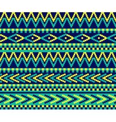 Pixeled brazil pattern vector