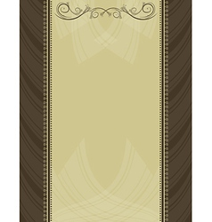 Brown antique background vector