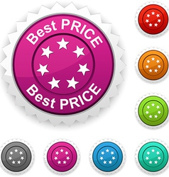 Best price award vector