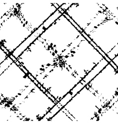 Grid scratched diagonal vector
