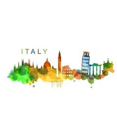 Italy vector