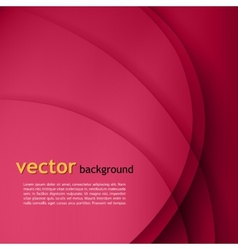 Purple smooth twist lines background vector