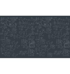 Formula in blackboard vector