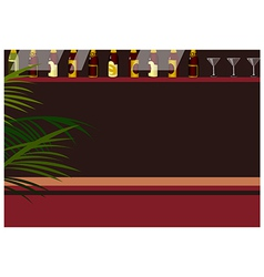 Bar background vector