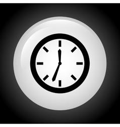 Time button design vector