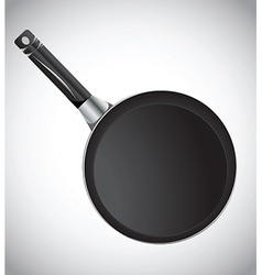 Cooking pan vector