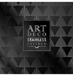 Art deco seamless vintage wallpaper pattern vector