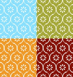 Indian seamless pattern vector