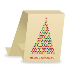 Christmas tree2 vector