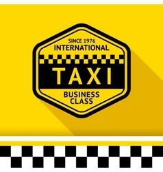 Taxi badge 12 vector