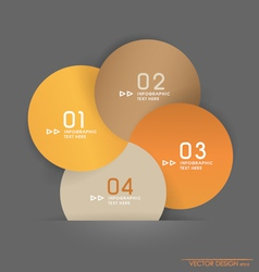 Modern design layout and template vector