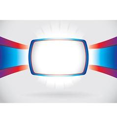 Abstract screen frame vector