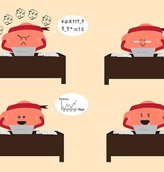 Brain working vector
